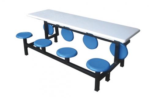 玻璃钢餐桌椅001