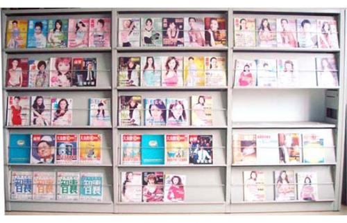 4五层单面期刊架